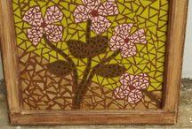 Mis trabajos en mosaico