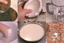 manteca y aceite de coco casero