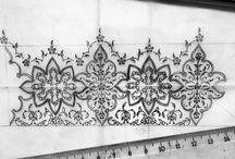 tezhip desenleri ve motifleri
