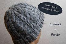 gorro lana tejido