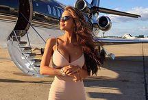 Private jet photo session