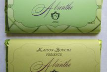 Maison Bouche Chocolate Bars / Collection of Maison Bouche Signature label chocolate bars