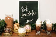 Coffee, Hot Chocolate, Cider