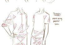 Clothing drawing