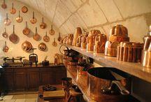 Cuisines châteaux Chenonceau