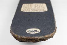 """Natural Skateboarding"" / Wood skateboard"