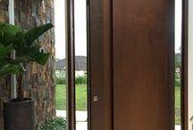 geam și ușă