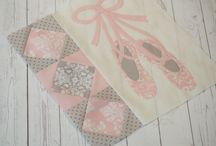 Baby Quilts / Baby quilts from Bunny Hill Designs