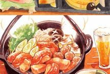 料理 イラスト