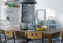 Vintage industrial / Decorating with the vintage industrial look! / by AKA DESIGN