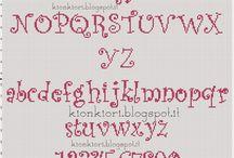 Alfabet krzyzykowy
