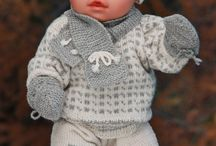 Knitting: For Baby Born