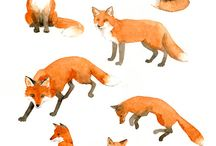 Foxes and more / Inpirational fox pictures for tattoos & our wedding decoration!