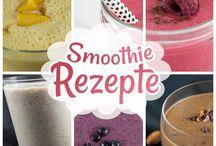 Smoothie Rezepte / Meine Lieblings-Rezepte für Smoothies