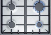PLITA INCORPORABILA BOSCH PCP615B90E, GAZ, 4 ARZATOARE, APRINDERE ELECTRICA, INOX