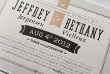 Wedding Invitation Design / by Jon McCray