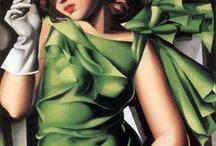 Painting. Tamara de Lempicka