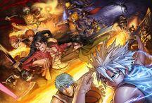 manga fight