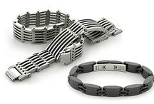 Contemporary Titanium Bracelets / Titanium bracelet is a great option for anyone who leads an active lifestyle or just wants the kind of quality that will last a lifetime. Titanium is famously durable, being highly resistant to bending, breaking or deformation. Although it is quite sturdy, it is also surprisingly lightweight.
