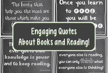 Book Quotes/ Reading Inspiration