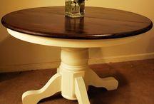 Kitchen table redo / by Rachel Meredith