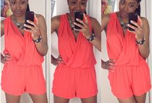 Fitting Room Fun / Looks straight from the fitting room.  Follow me on Instagram @BlitzAndGlam to see them in real time.  / by Tamara A. Marbury