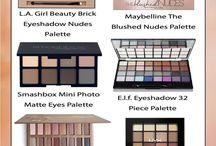 Paletas Maquillaje