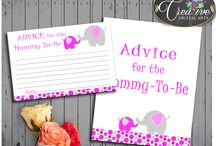 Baby Shower Girl Games Elephant Magenta Pink Invitations, Decorations and more... / Hi, thank you for visiting this beautiful baby shower board with elephant magenta theme. Here you can find a lot of baby shower decorations and activities with over 40 listings in this theme.