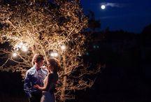 Ретро-лампочки / Свадебная фотосессия