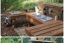 kuchynka na zahradu