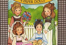 Paper Dolls / Printable paper dolls.