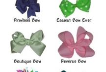 Hair Bows / by Sherri Hall