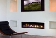 Ivanhoe fireplace