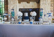 Baby Shower Candy Bar / These Baby Shower dessert tables have all been provided by Candee Couture.