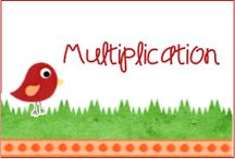 Multiplication / A great board with fun ways to teach your students multiplication.