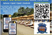 Skiathos Mobile Travel Guides  / Find everything you need while traveling to the Island of Skiathos .