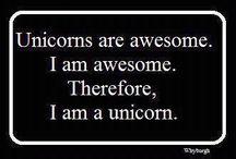 i am unicorn / by Hallie Parker