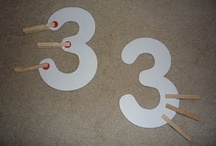 OT activities - letters & numbers / Incorporate fine motor and visual motor skill with letter and number practice