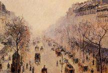 Paris Scenes 19th Century