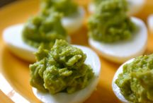 Guacamole eggs / by Jessica Pearce Hoffman