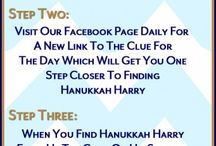 Can you find Hanukkah Harry?! / If you haven't already, Like US Now to make sure you get to see all of the clues.  To get you started on your hunt for Hanukkah Harry  Click here! --->http://ht.ly/FbnFq   / by Traditions Jewish Gifts