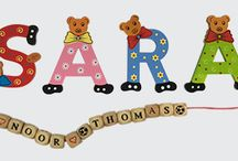 Wooden letters / Wooden letters by Charl's Toys for Children and other special rooms.