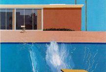 Дэвид Хокни / Дэвид Хокни (англ. David Hockney, р. 1937) - современный британский, американский художник, теоретик искусства. Биография, картины: http://contemporary-artists.ru/David_Hockney.html