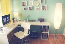 Working Girl / A workspace that is all your own is one of your most important tools. / by Kacy Wilson
