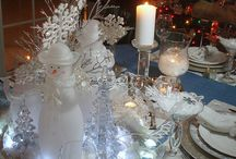 GOTTA LUV CHRISTMAS TABLESCAPES!