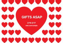 VDAY GIFTS ASAP |  Square + Uniqlo / Order gifts for pickup from Uniqlo with Square. / by Square