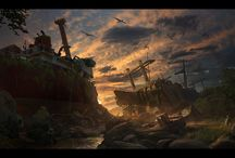 -Matte Painting- / by Polina Elharar