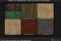 HAND PAINTED TEXTURES