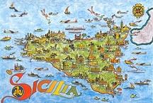 Italy - everything Italian / Italy - Catania, Capri, Sardinia, amalfi,Tuscany -Florence, Venice <3