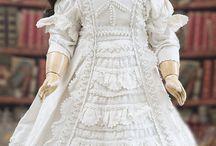 Doll in Christening dress